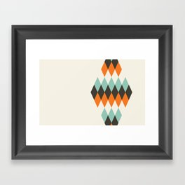 Diamond of Diamonds Framed Art Print