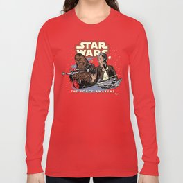Chewie, We're Home Long Sleeve T-shirt