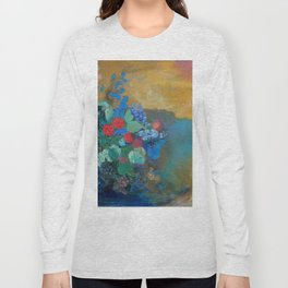"Odilon Redon ""Ophelia among the Flowers"" Long Sleeve T-shirt"