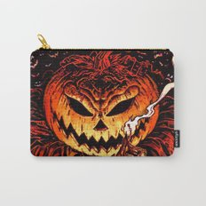 Halloween Pumpkin King (Lord O' Lanterns) Carry-All Pouch