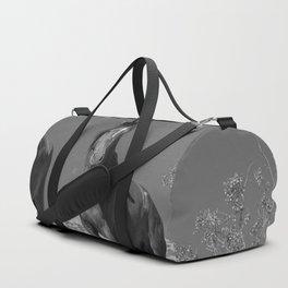 Wild_Horses B & W 3501 - Nevada Duffle Bag