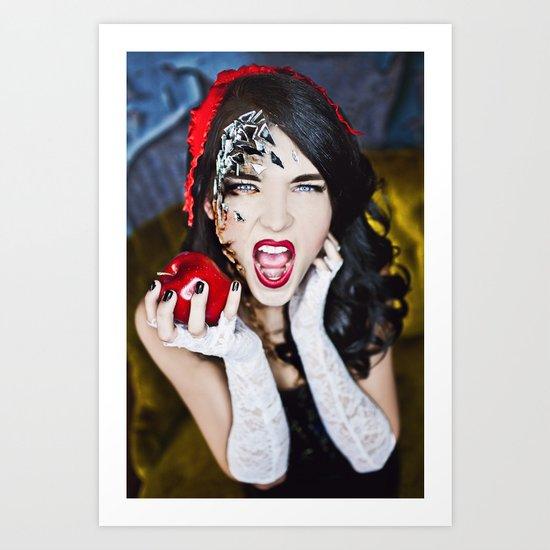 Last Bite, Snow White Art Print