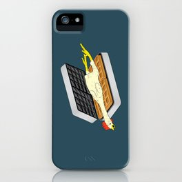 Rubber Chicken & Waffles iPhone Case