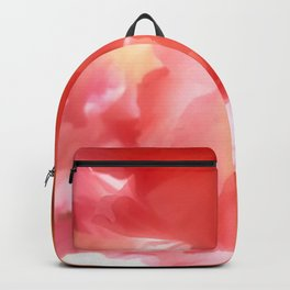 Soft Red Gladiola Backpack