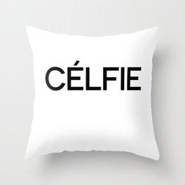 Celfie Throw Pillow
