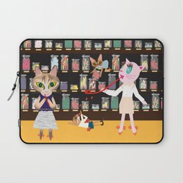 FASHIONISTA CAT CANDY STORE Laptop Sleeve