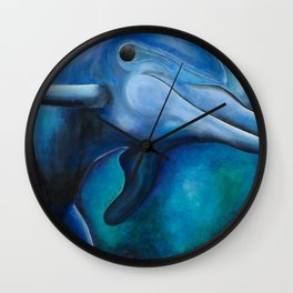 Dolly, The Smiling Dolphin Wall Clock