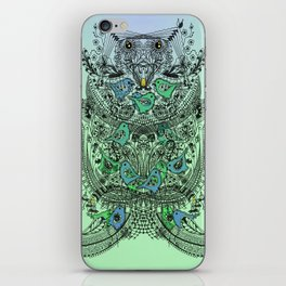 Little Birds and big brother Owl iPhone Skin