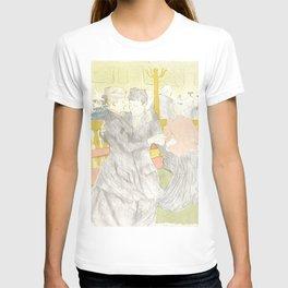 """Henri de Toulouse-Lautrec """"Two Woman Dancing"""" T-shirt"""