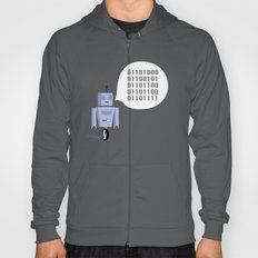 How to Greet a Robot Hoody