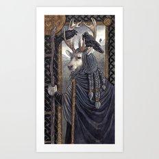 One-Eyed Art Print