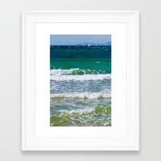 Sea  1402 Framed Art Print