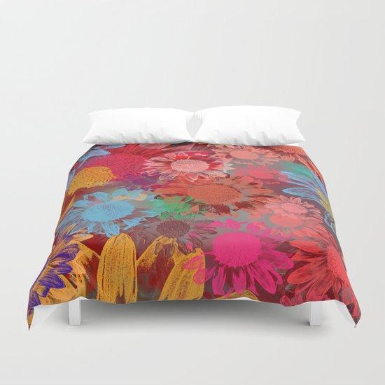 Flower carpet(38). Duvet Cover