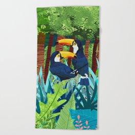 Tucans Beach Towel
