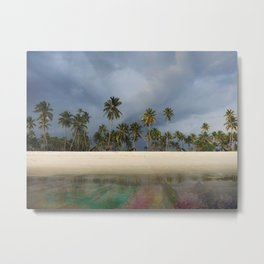 Rainbow Algae Bloom Metal Print