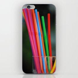 Straws iPhone Skin