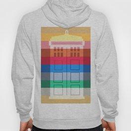 13th Doctor Rainbow Hoody