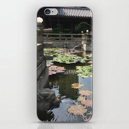 Temple waters  iPhone Skin