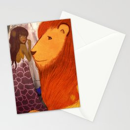 Lion Heart Stationery Cards