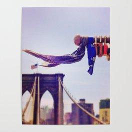 Locks of Love, Brooklyn Bridge Poster