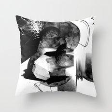 Moonscan Throw Pillow