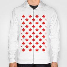 Maple Leaf pattern Hoody