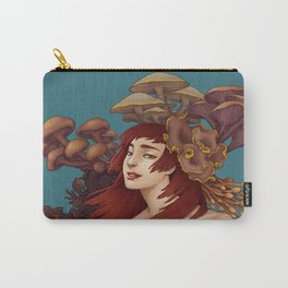 Mushroom Lady Carry-All Pouch