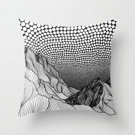The Morning Throw Pillow
