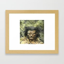 Logan by Roger Cruz Framed Art Print