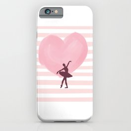 Ballet Dance Ballerina Dancing Passion Gift iPhone Case