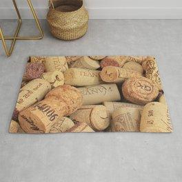 Wine Corks Pattern Design II Rug
