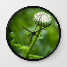 Petit Bouton (Little Bud) by Althéa Photo Wall Clock