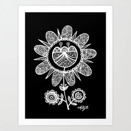 White Flower 116 Art Print