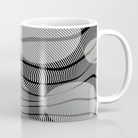 mid century Mugs featuring Mid-Century Mod by Patti Toth McCormick