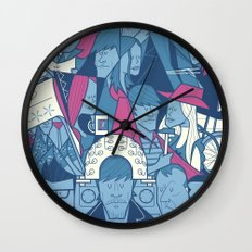 Lacuna Wall Clock