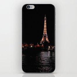 Rose Gold Eiffel Tower iPhone Skin
