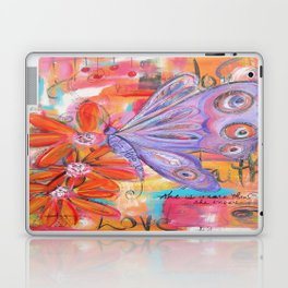 She is more than She knows... Laptop & iPad Skin