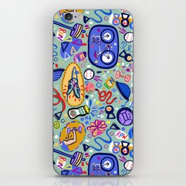 Exercise Fun! iPhone Skin