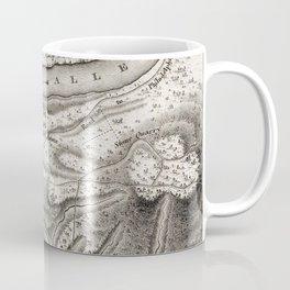 Vintage Map of Pittsburgh PA (1796) Coffee Mug