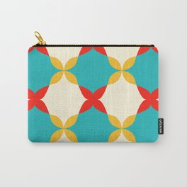 Subtle Pattern Carry-All Pouch