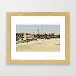Construction Site #1 Framed Art Print
