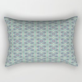 Butterfly Semi-Plaid Rectangular Pillow