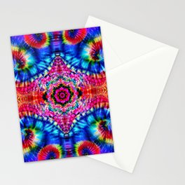 Tie-Dye Psychedelic Stationery Cards