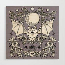 A Bat's Favorite Things Wood Wall Art