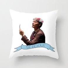 Hannibal - Flower Crown Throw Pillow