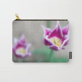 Two-toned Tulips Carry-All Pouch