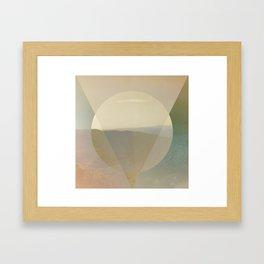 ESSE EST PERCIPI III Framed Art Print