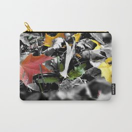 colors in contrast Carry-All Pouch