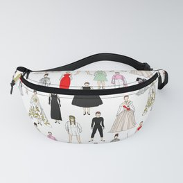 Audrey Fashion Whimsical Layout Fanny Pack