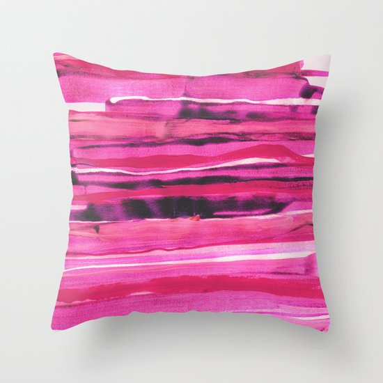 Stack III Throw Pillow